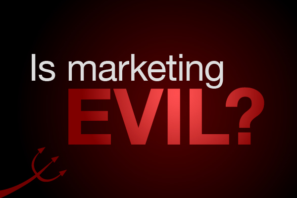 is-marketing-evil